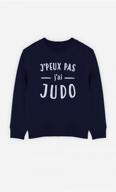 Sweat J'peux Pas J'ai Judo