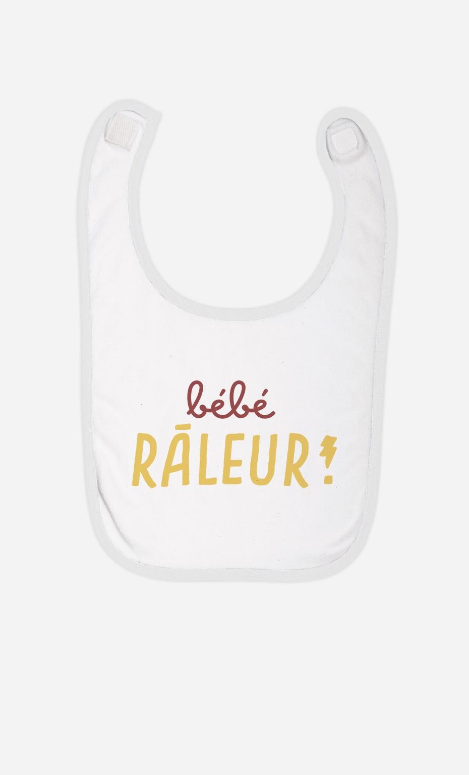 Bavoir Bébé Râleur