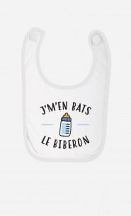 Bavoir J'm'en Bats Le Biberon