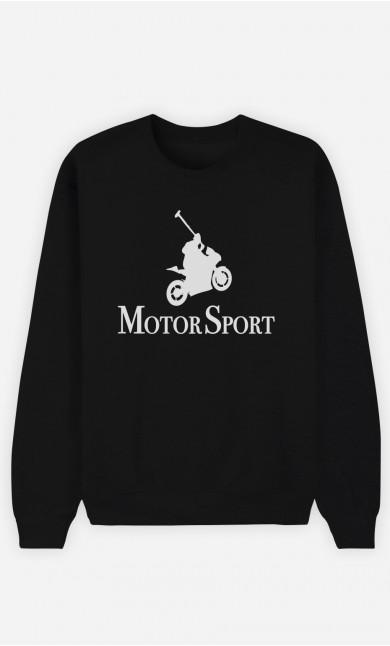 Sweat Noir Motor Sport