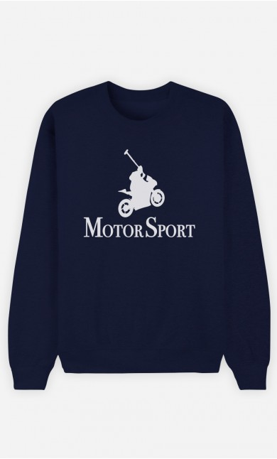 Sweat Bleu Motor Sport
