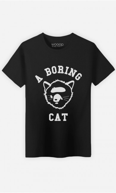T-Shirt A Boring Cat