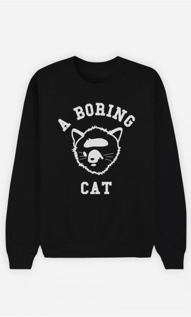 Sweat Noir A Boring Cat