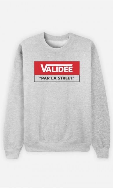 Sweat Validée Par La Street