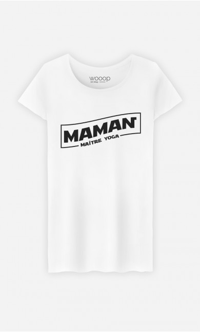 T-Shirt Maman Maître Yoga
