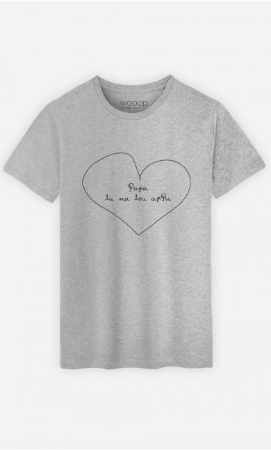 T-Shirt Papa Tu Ma Tou Apri