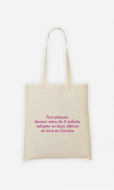 Tote Bag Devenir Mère
