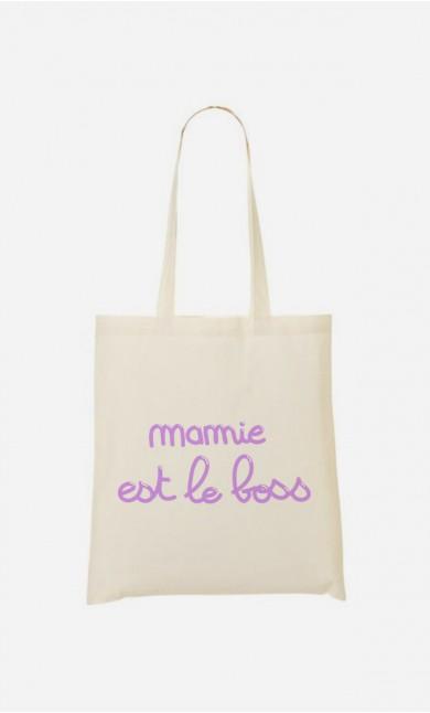 Tote Bag Mamie Est Le Boss