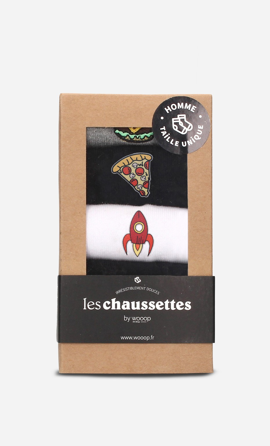 Pack 5 Chaussettes Homme