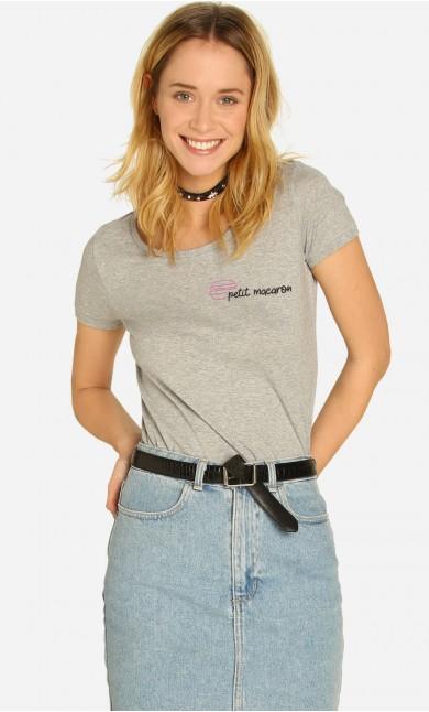 T-shirt Petit Macaron - Brodé