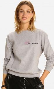 Sweatshirt Petit Macaron - Brodé