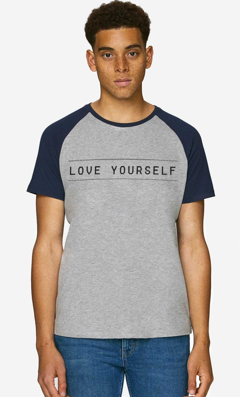 T-Shirt Baseball Love Yourself