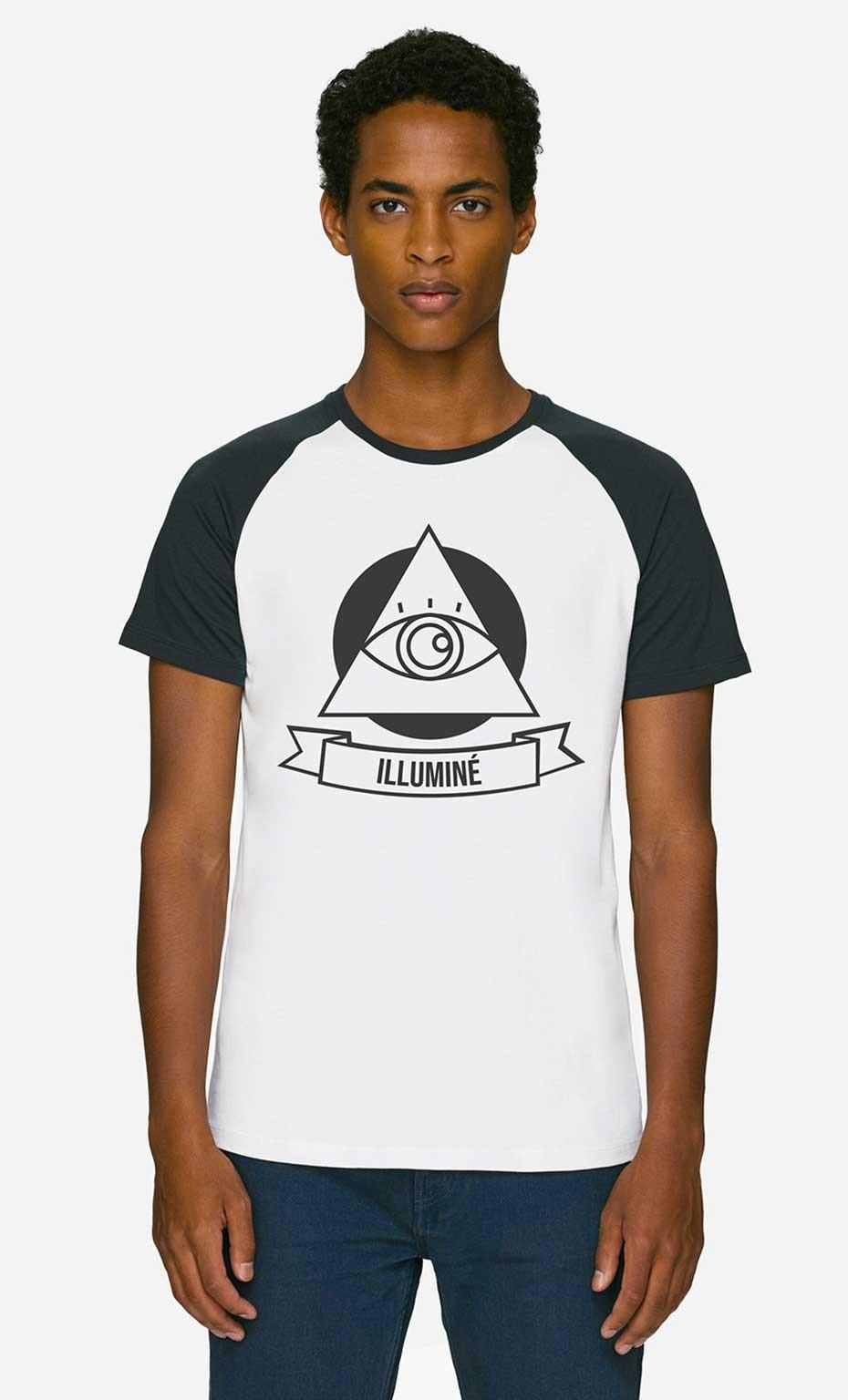 T-Shirt Baseball Illuminé