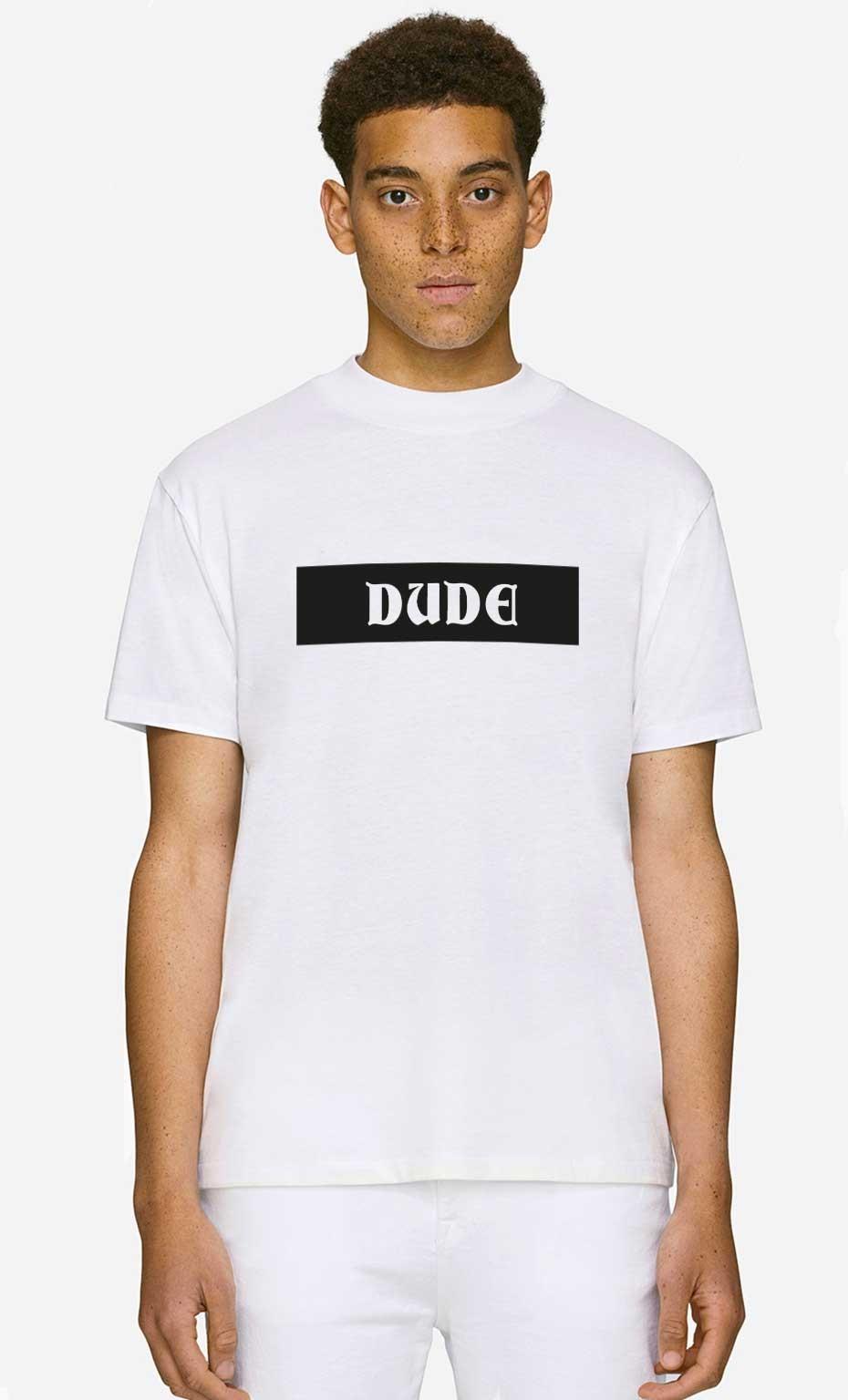 T-Shirt Col Haut Dude