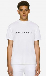 T-Shirt Col Haut Love Yourself