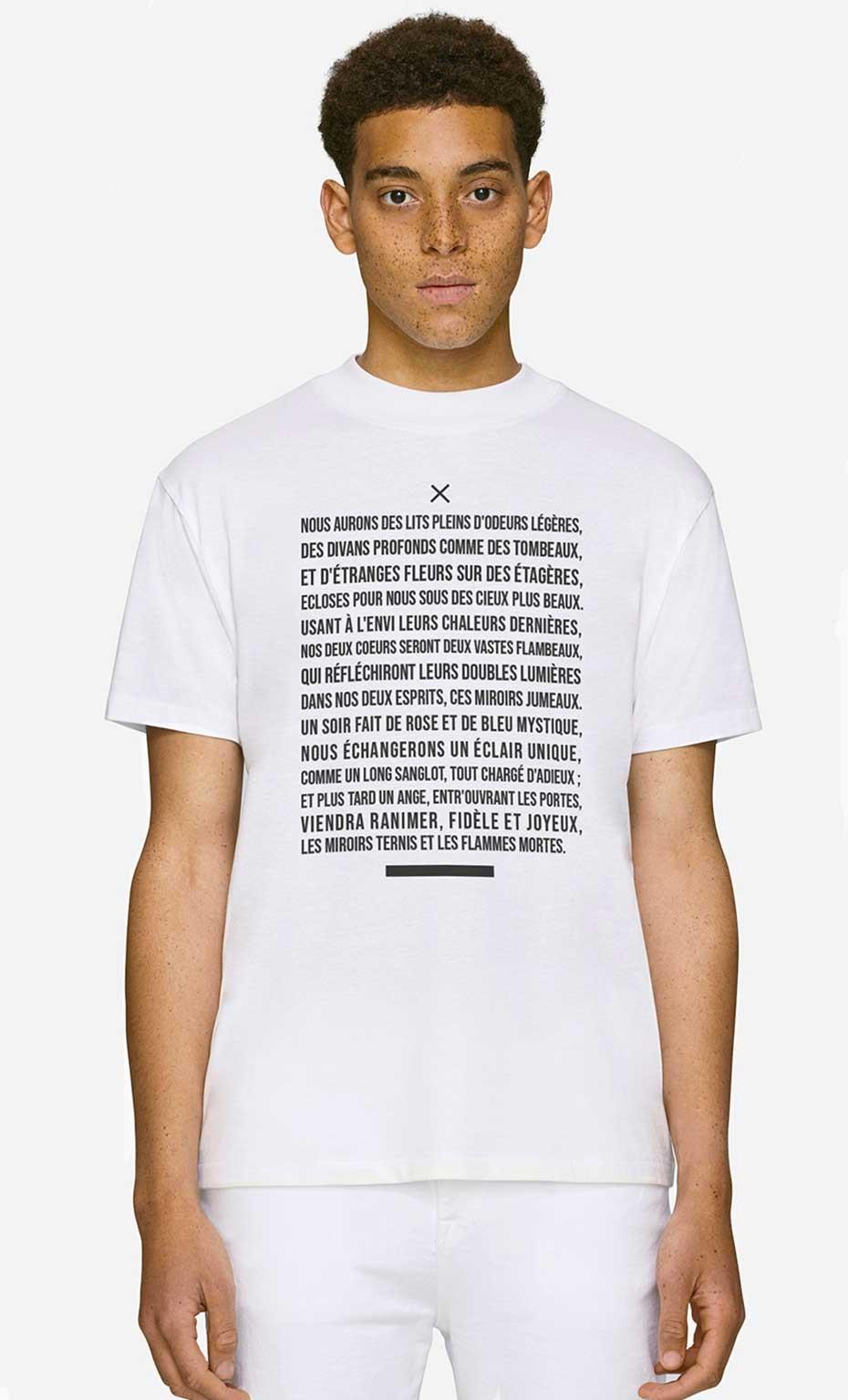 T-Shirt Col Haut La Mort Des Amants