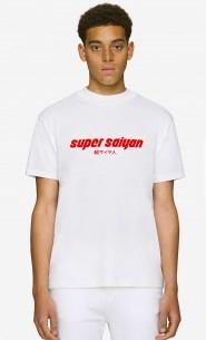 T-Shirt Col Haut Super Saiyan