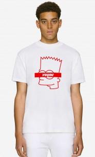 T-Shirt Col Haut Voyou