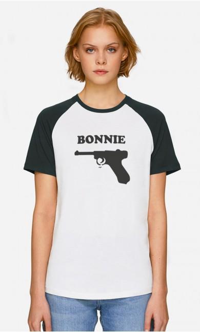 T-Shirt Baseball Bonnie