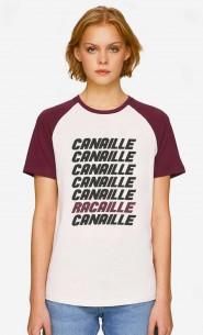T-Shirt Baseball Canaille