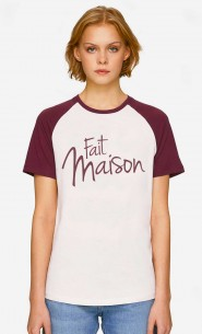 T-Shirt Baseball Fait Maison