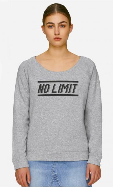 Sweat Col Large No Limit