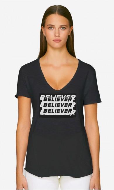 T-Shirt Décolleté Believer