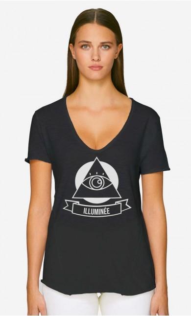 T-Shirt Décolleté Illuminée