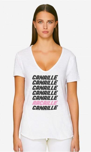 T-Shirt Décolleté Canaille