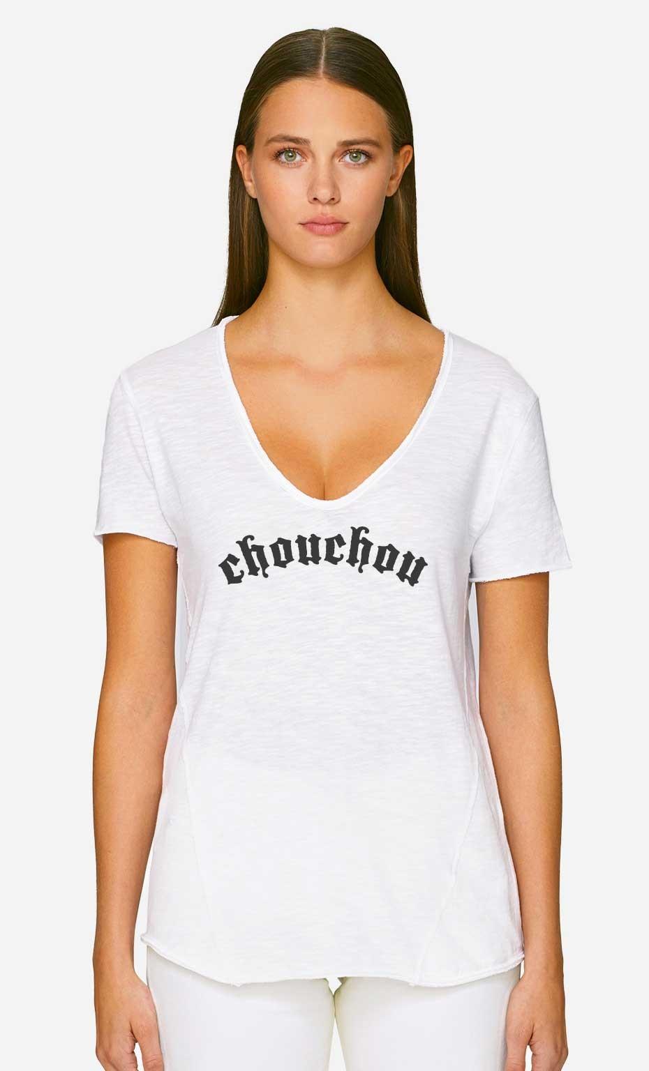 T-Shirt Décolleté Chouchou