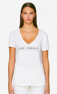 T-Shirt Décolleté Love Yourself