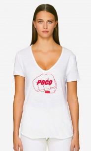 T-Shirt Décolleté Pogo