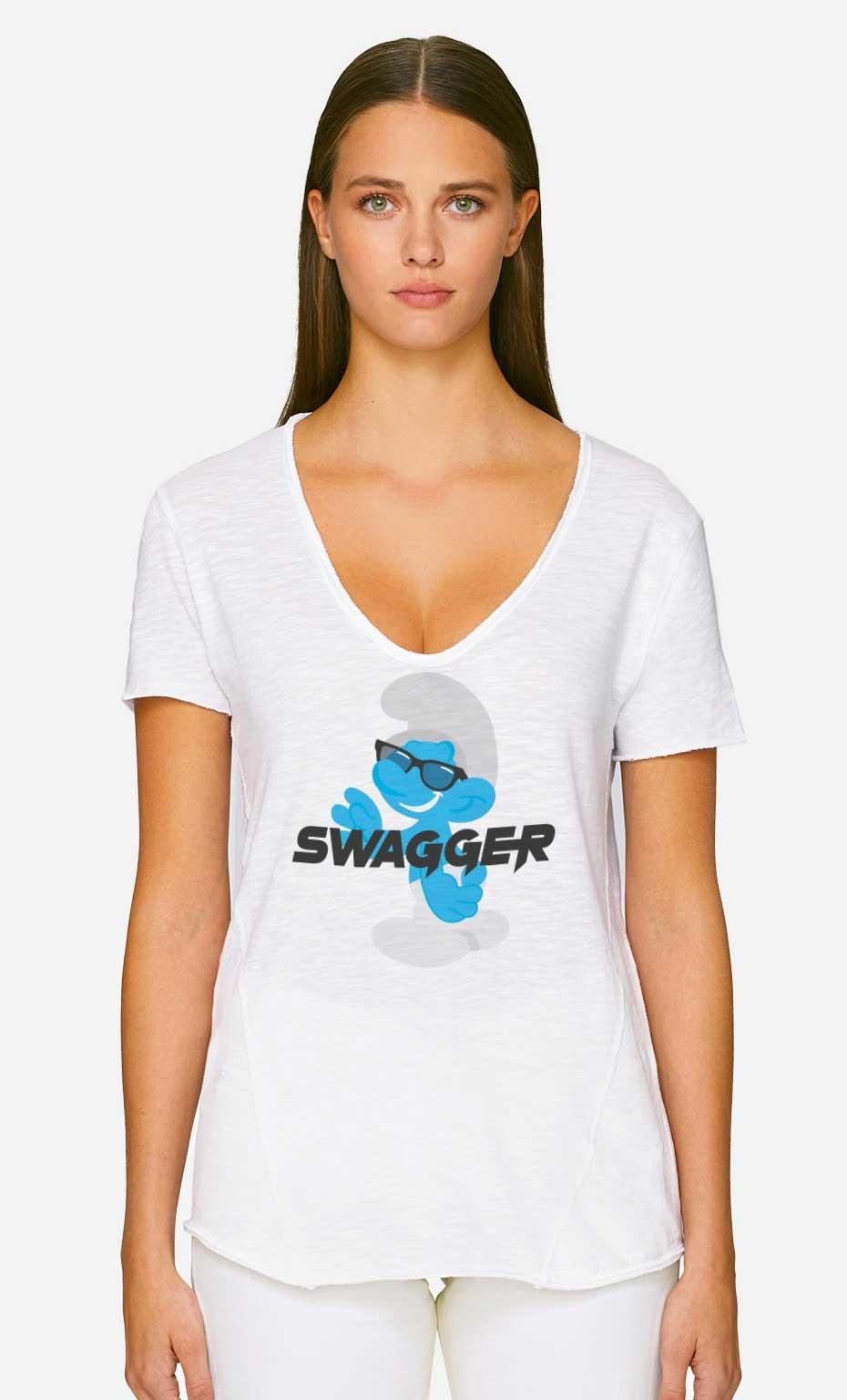 T-Shirt Décolleté Swagger