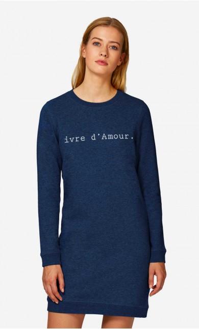 Robe-Sweat Ivre d'Amour