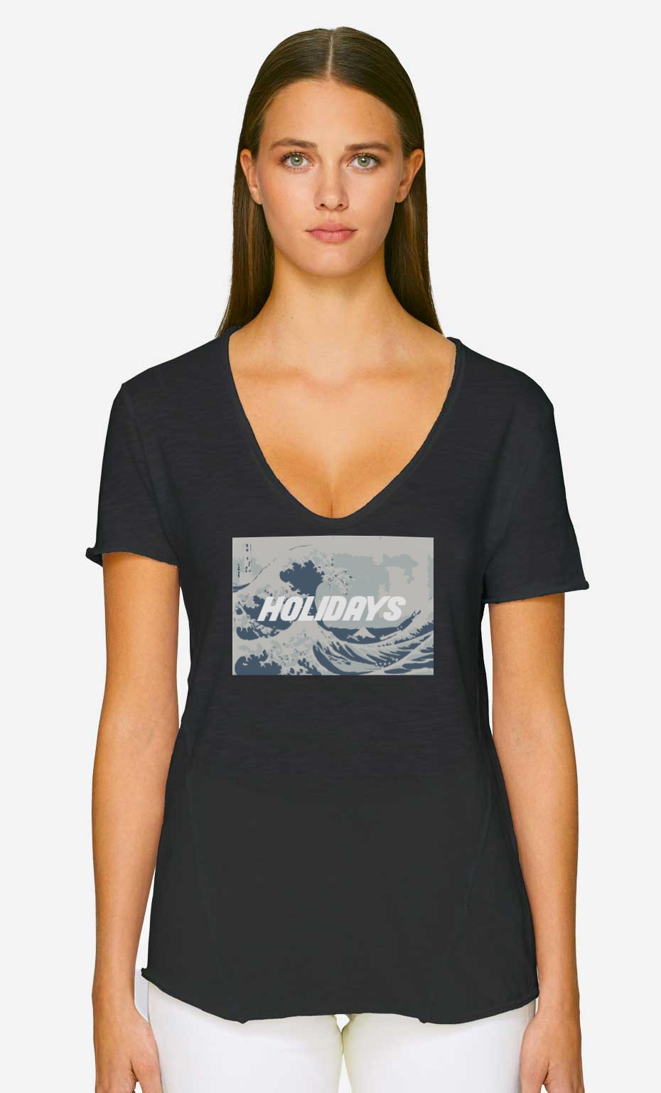 T-Shirt Décolleté Holidays