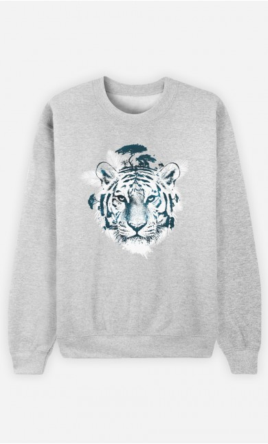 Sweat Frozen Tiger