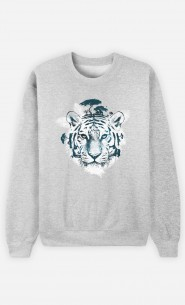 Sweat Frozen Tiger