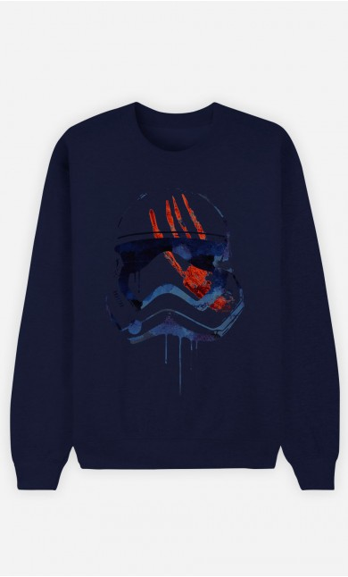 Sweat Bleu Bloody Stormtrooper