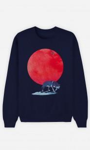 Sweat Bleu Red Moon