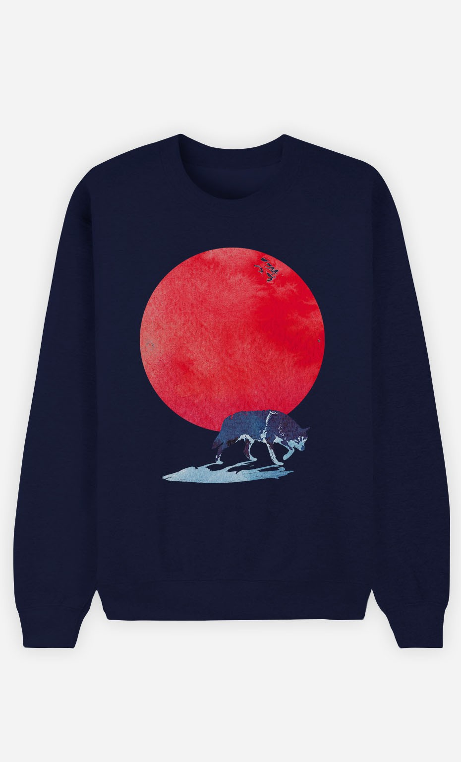 Sweat Bleu Red Moon
