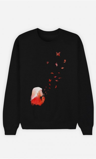 Sweat Noir Butterflies