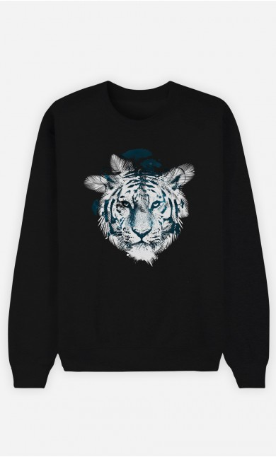 Sweat Noir Frozen Tiger