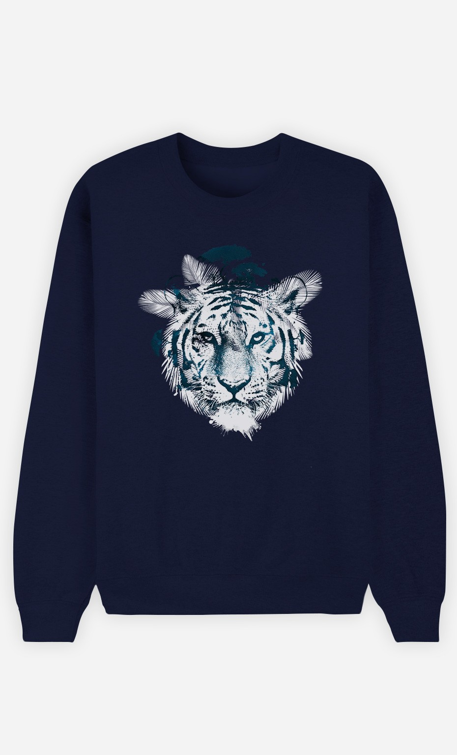 Sweat Bleu Frozen Tiger
