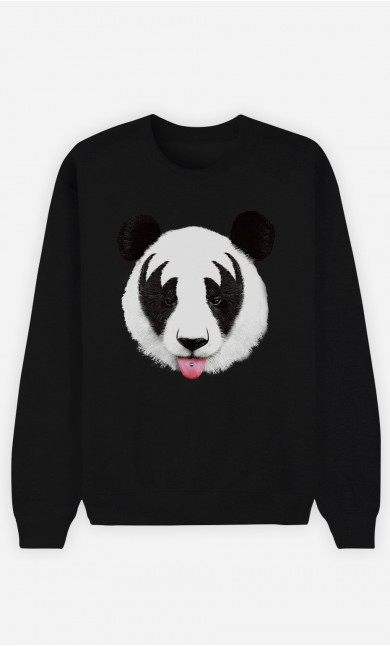 Sweat Noir Panda Kiss
