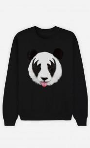 Sweat Noir Panda Kiss