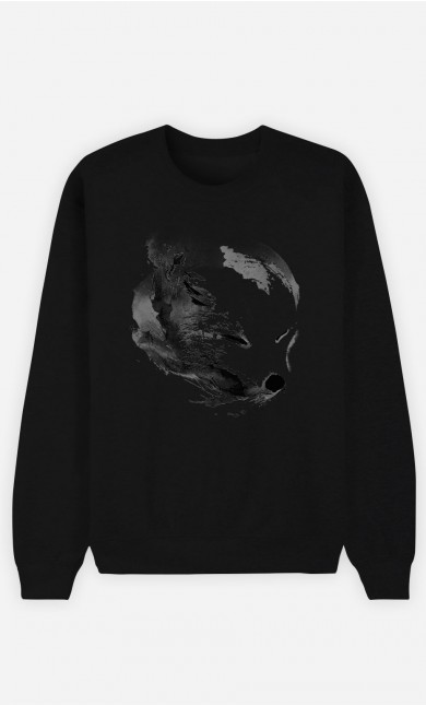 Sweat Noir White Fox Alpha