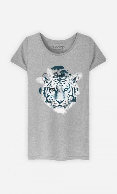 T-Shirt Frozen Tiger