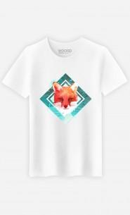 T-Shirt Green Fox