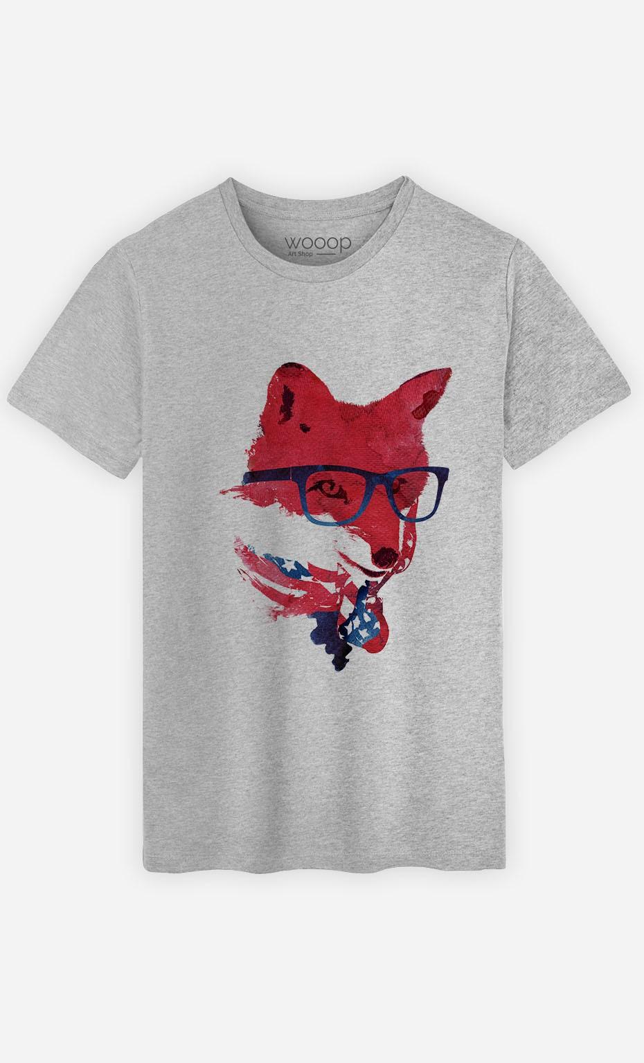 T-Shirt American Fox