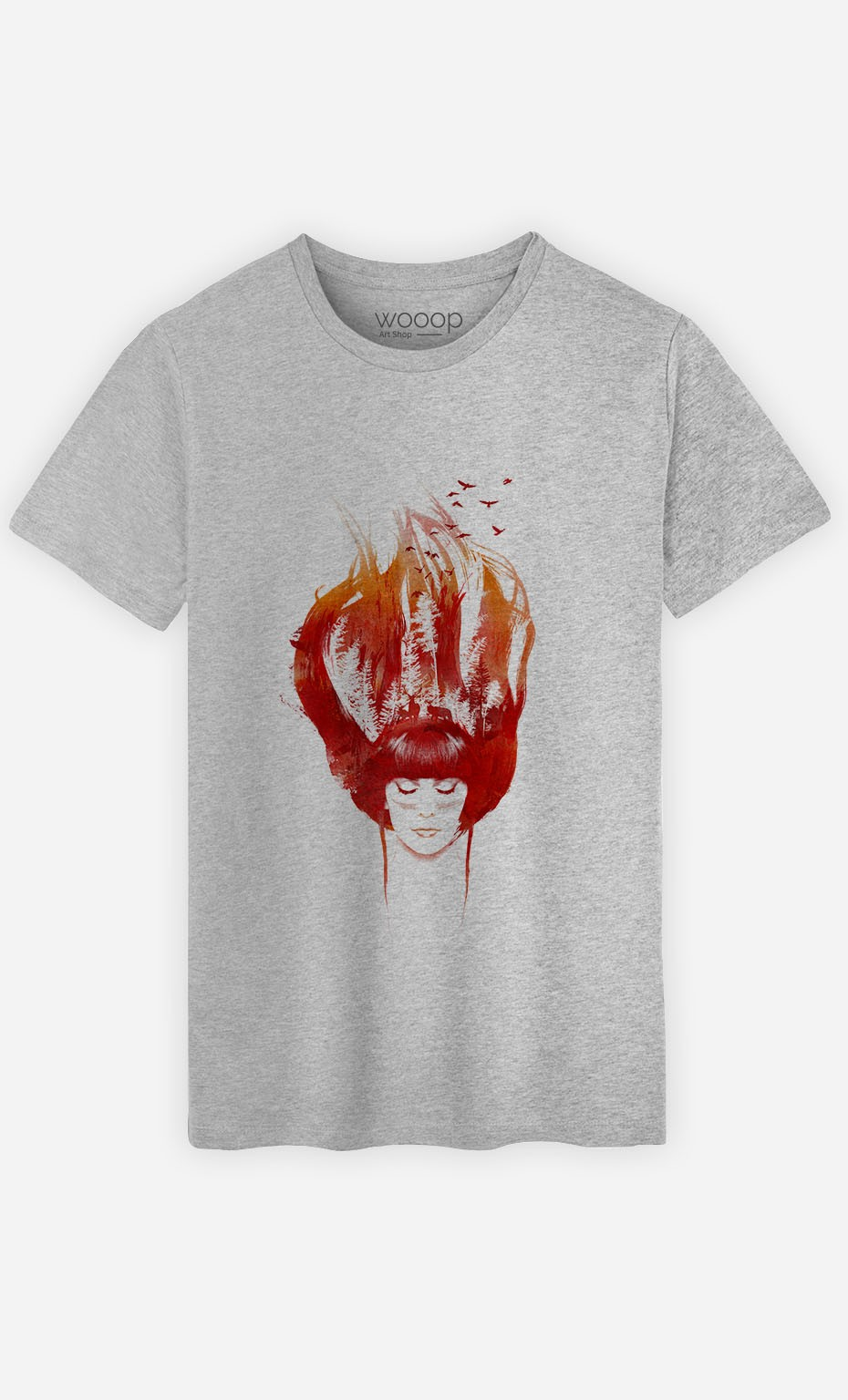 T-Shirt Burning Forest